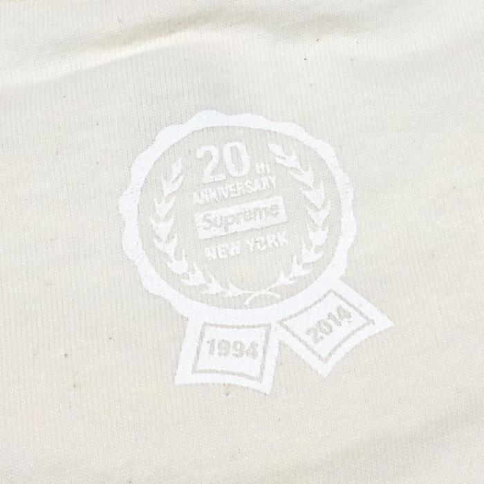 f228b48603f0 PALM NUT: Box logo T-shirt Natural / natural 2014SS regular article ...
