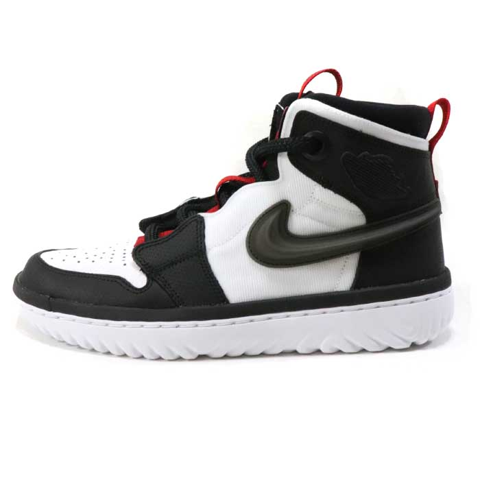 new product c3fdc 4f4d0 2019 NIKE / Nike Air Jordan 1 High React / Air Jordan 1 yes re-act  BLACK/BLACK-WHITE-GYM RED domestic regular article old and new things  product