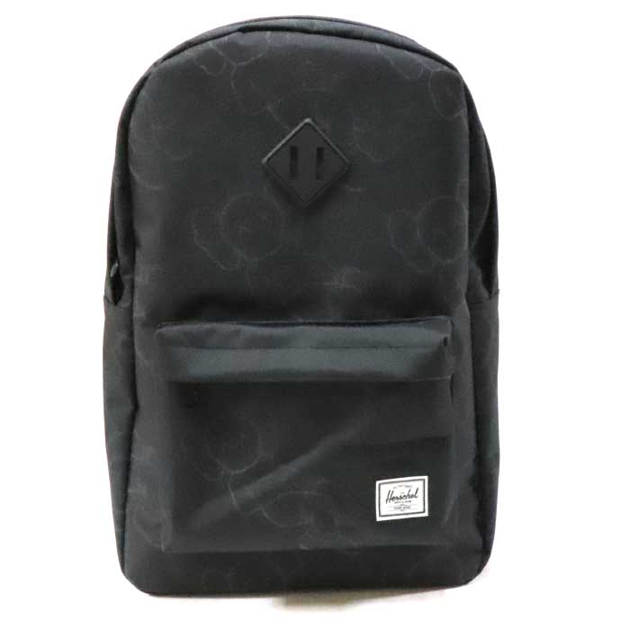 KAWS X Herschel Supply / cows Hershel supply Backpack / backpack Black /  black black 2019SS domestic regular article old and new things product