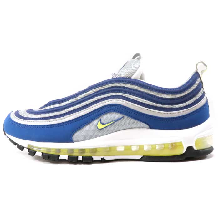 best sneakers a1d7b 2063b 2017 NIKE / Nike Air Max 97 OG Royal Neon / Air Max royal neon ATLANTIC  BLUE/METALLIC SILVER-WHITE-VOLTAGE YELLOW domestic regular article beauty  used ...