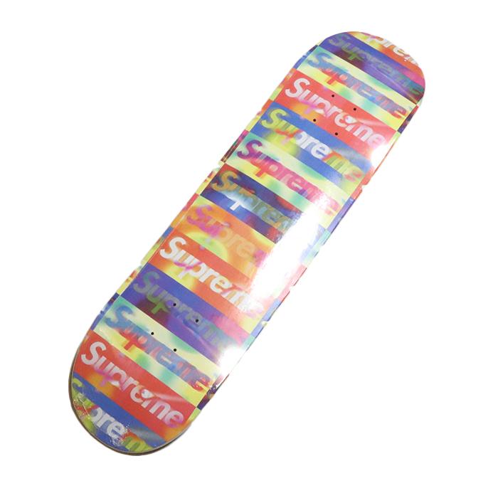 贈呈 Supreme シュプリームDistorted Logo Skateboard ディストーテッド ロゴ 中古 オレンジ2020SS 新古品 完売 国内正規品 スケボーデッキOrange スケートボード