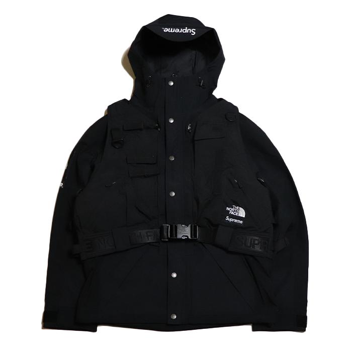 新作からSALEアイテム等お得な商品 満載 Supreme x THE オリジナル NORTH FACE シュプリーム ノースフェイスRTG Jacket + Vest 国内正規品 ベスト ジャケット 中古 タグ付き Black 新古品 NP61903I ブラック 黒2020SS