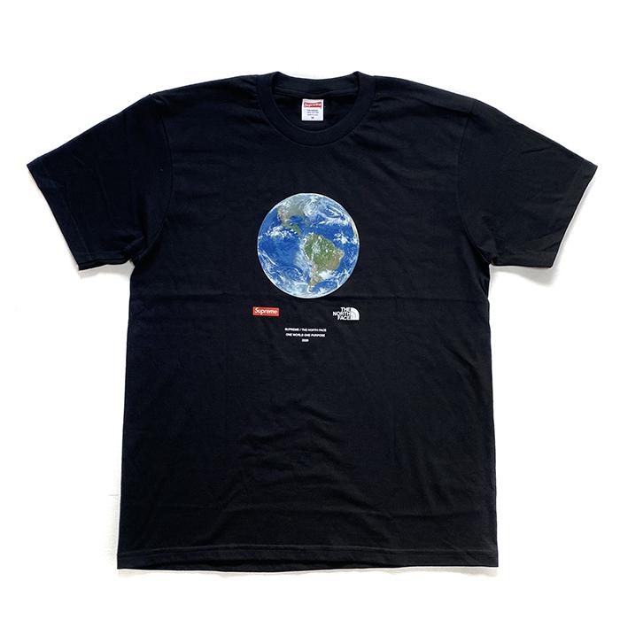 Supreme シュプリームThe North Face 数量限定アウトレット最安価格 ザ ノース フェイスOne World Tee ワールド 中古 黒2020SS 国内正規品 キャンペーンもお見逃しなく ブラック ワン TシャツBlack 新古品