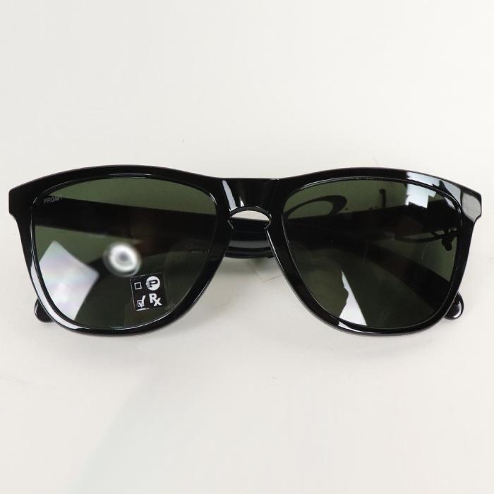 毎日続々入荷 FRAGMENT DESIGN x OAKLEY フラグメント デザイン オークリーFROGSKINS A 中古 黒2020FW サングラスBLACL 新作通販 国内正規品 新古品 ブラック Sunglasses フロッグスキン