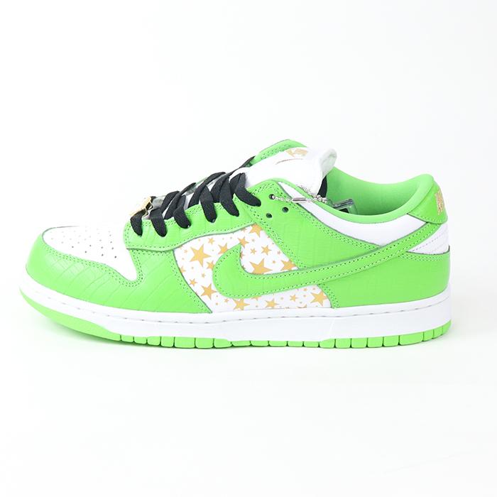 日本最級 2021SS Supreme × Nike SB SB Dunk ライム Low/ スター ダンク ロウ Lime Stars/ ライム スター 緑【DH3228-101】国内正規品 新古品【】, YOU+ ユープラス株式会社:4dfc7fff --- esef.localized.me