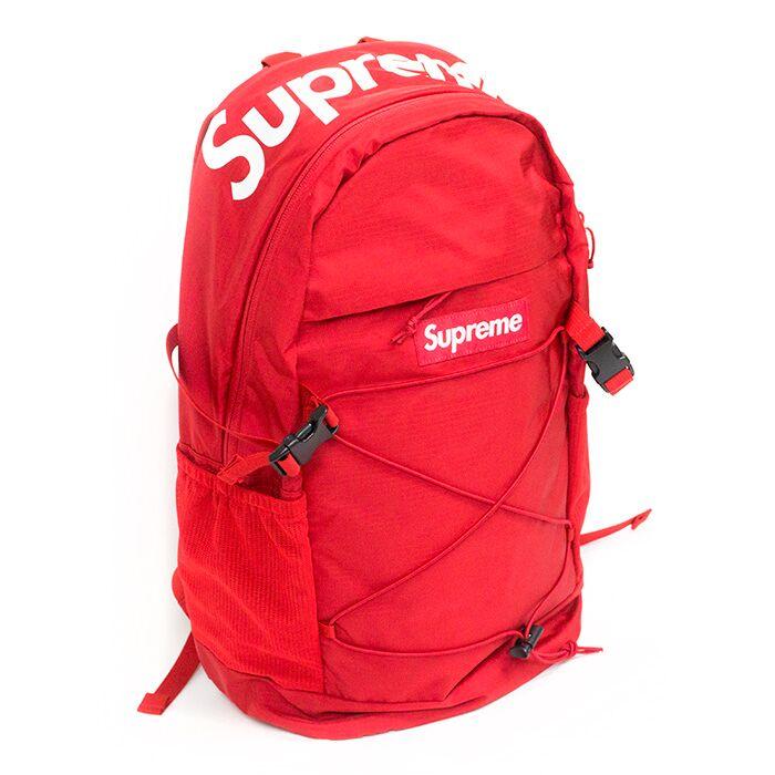 Supreme / Supreme Backpack 210 Denier Cordura / backpack Cordura backpack Red / Red Red 16 SS Nos new old stock