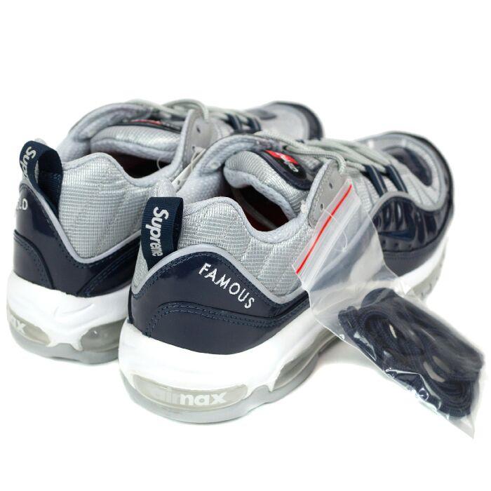 Supreme×Nike / Supreme x Nike AIR MAX 98 / Air Max 98 NAVY / Navy Blue 16 SS Nos new old stock