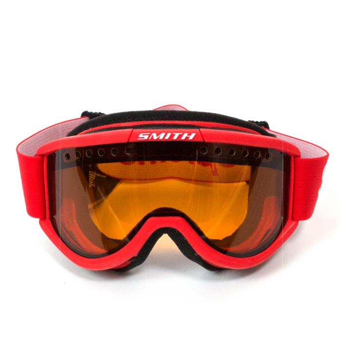 有Supreme x Smith/shupurimu×史斯密Cariboo OTG Ski Goggles/sukisunobogoguru Red/红红15FW国内正规的物品标签新古董