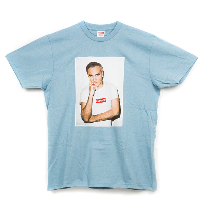 Supreme / Supreme Tee Morrissey / Morrissey T shirt Light blue / light blue light blue 16 SS domestic genuine tagged UN-opened