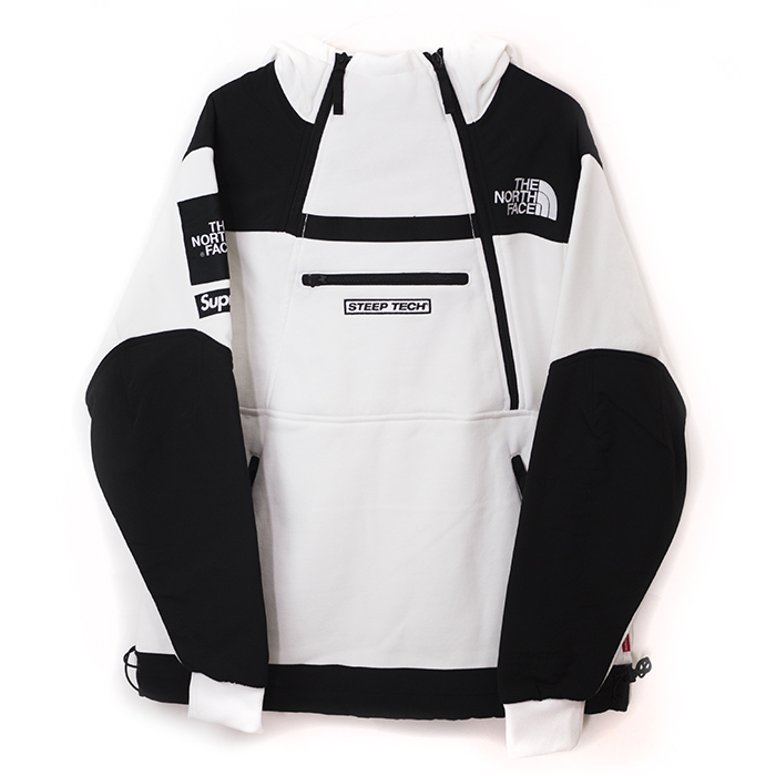aa8aeca6b Supreme x The North Face / Supreme / the north face Steep Tech Hooded  Sweatshirt / steep tech Hoody sweat shirt White / white white 2016 SS  genuine ...