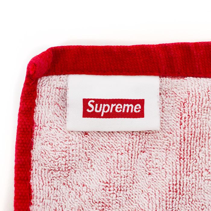 Supreme / シュプリーム Box Logo Beach Towel / box logo large size beach towel Red / red red 13SS domestic regular article beauty used goods