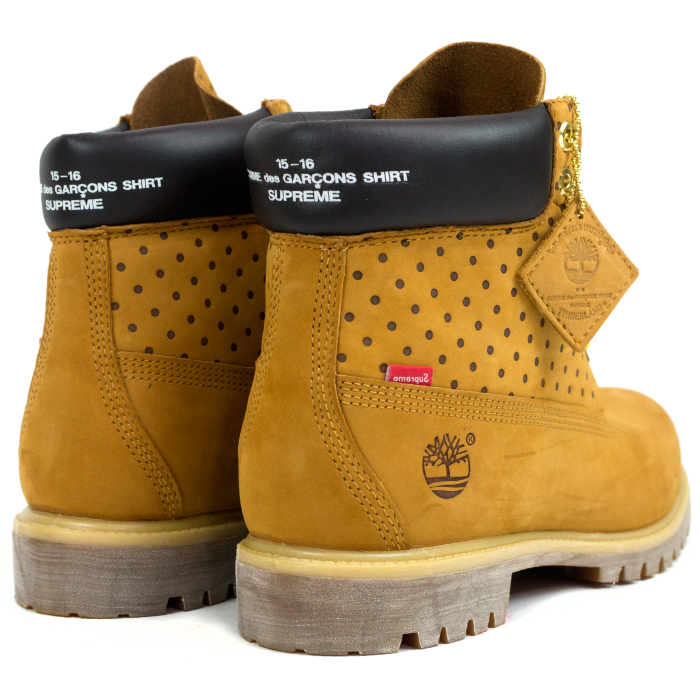 9d6a9ac3d012 Supreme X Comme des Garcons Shirt X Timberland   シュプリーム X コムデギャルソン X  Timberland 6-Inch Premium Waterproof Boot   6 inches waterproof premium ...