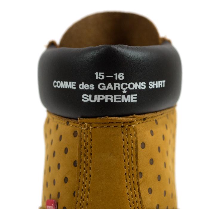 Supreme × Comme des Garcons Shirt × Timberlandシュプリーム × コムデギャル8nwOvmN0