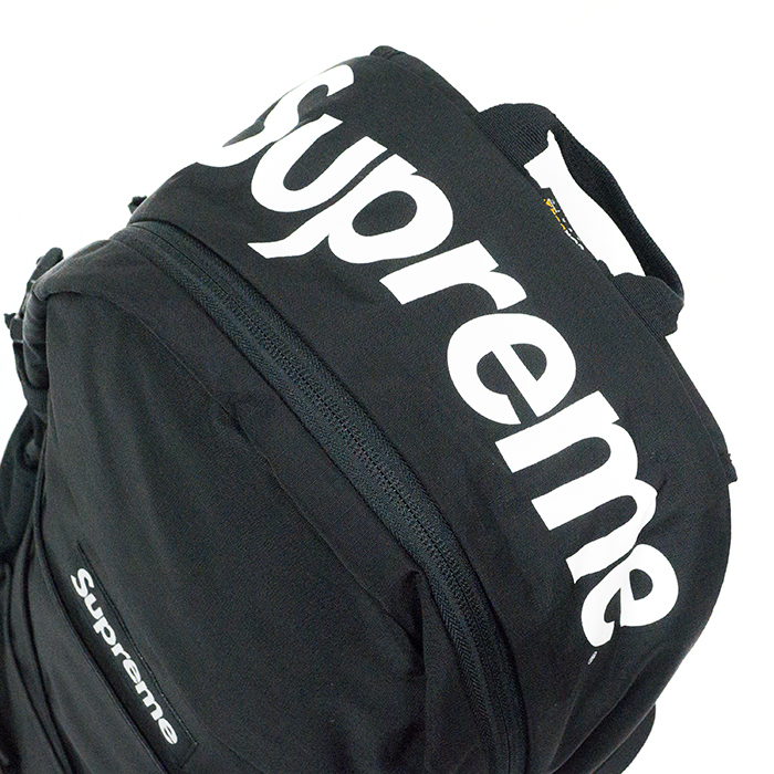 Domestic Genuine Supreme Backpack 210 Denier Cordura Black 16 Ss Nos New Old Stock
