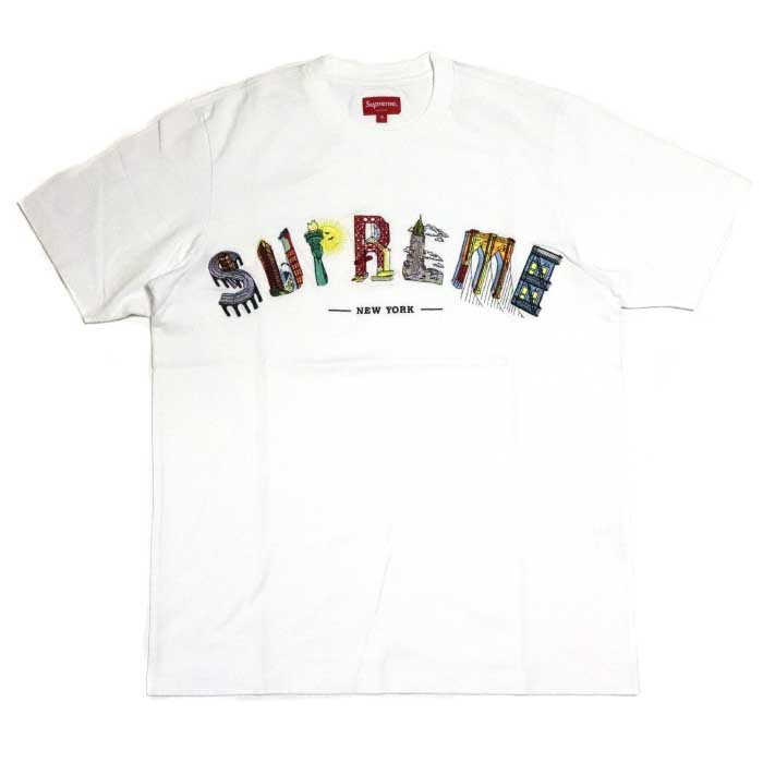 3d9297167e4b PALM NUT: Supreme / シュプリーム City Arc Tee/ city arch T-shirt White / white  white 2019SS domestic regular article old and new things product | Rakuten  ...