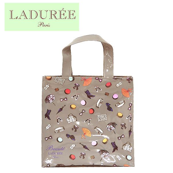 fournisseur officiel grande remise pour joli design LADUREE vinyl tote bag Petits Accessoires (S) GRIS