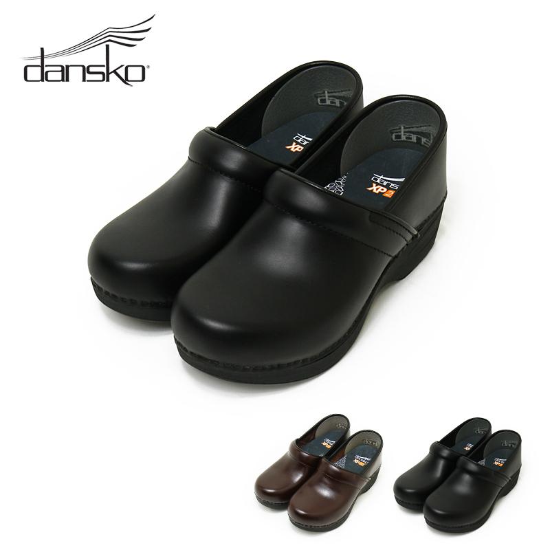 【並行輸入品】 ダンスコ dansko プロXP 2.0 プルアップレザー PRO XP2.0 レディース シューズ 靴 ブランド パンプス カジュアル 歩きやすい 痛くない ブラック 黒 プロフェッショナル クロッグ コンフォートシューズ 本革 大きいサイズ