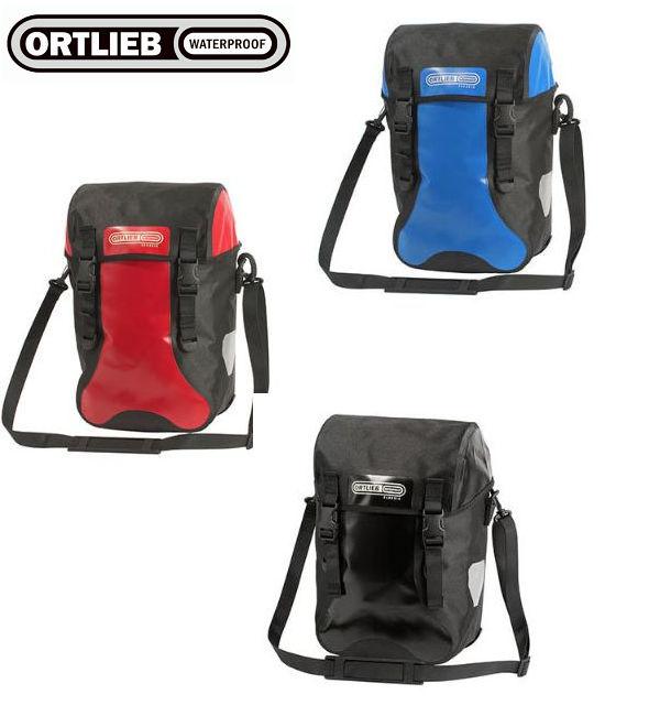 ORTLIEB オルトリーブ スポーツパッカークラシック(フロント・リア・兼用ペア)QL2.1 【単品本州送料無料】