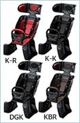 ブリヂストン ルラビーDX2 ルラビーデラックス2 RCS-LD4 スマートフィッター装備ヘッドレスト付きチャイルドシート【リア用子供のせ】【本州送料無料】