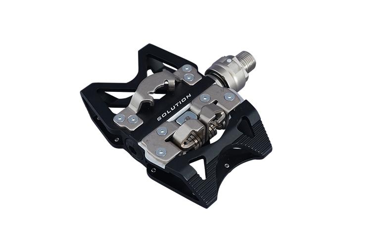 売却 フラット面とビンディング面のリバーシブル 自転車 ペダル 売れ筋 MKS三ヶ島製作所 Superior Ezy ブラック SOLUTION