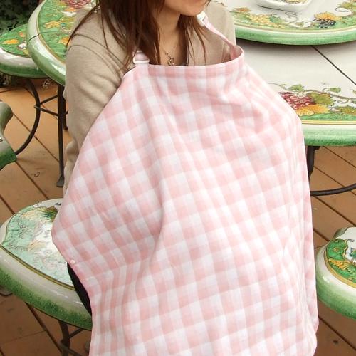 "Nursing cape nursing cover ""check the bread Dagon"" << nursing clothes / delivery preparations / mother's milk child care / delivery celebration / pregnancy celebration / gauze >>"