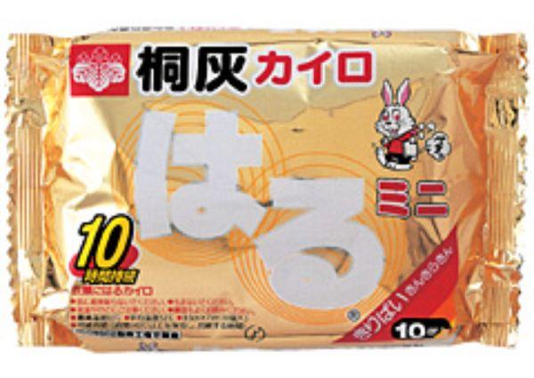 桐灰化学 桐灰はるミニ 10個(10P) 1ケース 48個