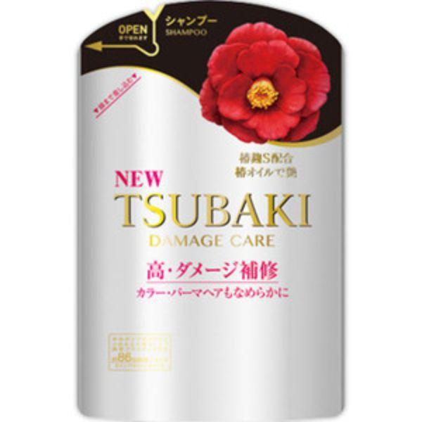 資生堂 ツバキ(TSUBAKI) ダメージケア シャンプー つめかえ用 345mL 1ケース 18個