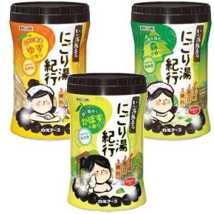 白元アース いい湯旅立ちボトル にごり湯紀行 アソートセット商品 2ケース 30個セット【福袋】