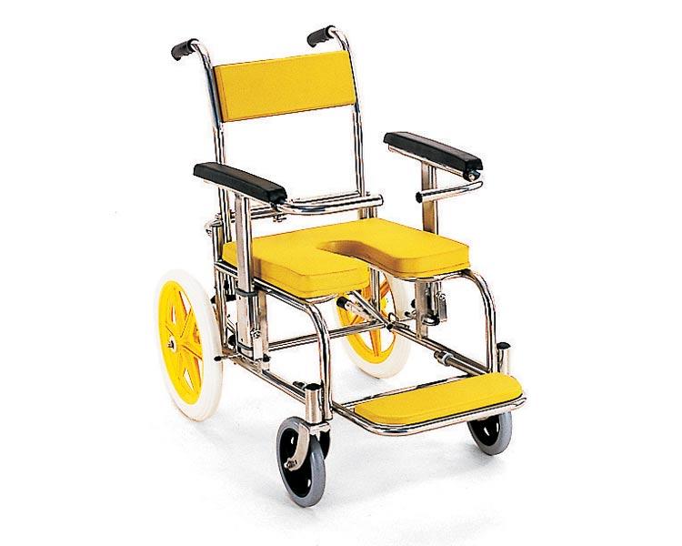 シャワーキャリー 入浴・シャワー用車椅子KS2 標準(クリありシート仕様) カワムラサイクルシャワーキャリー 入浴用車いす 車イス 介護用品 福祉用具 お風呂用車いす