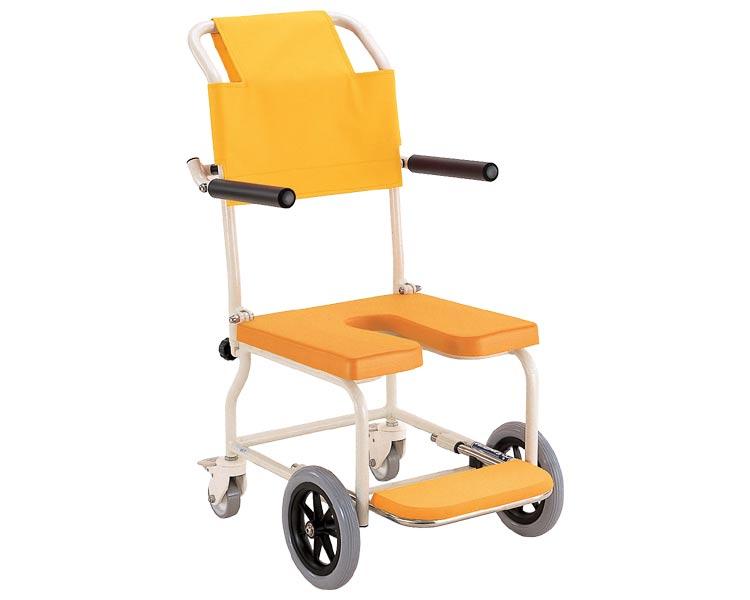 家庭・在宅介護用 簡易シャワー車椅子 KSC-2 カワムラサイクルシャワーキャリー 入浴用 車いす 車イス くるまいす 入浴補助 コンパクト 在宅介護 コンパクト