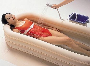 簡易浴槽 ニュー湯っくん オカモト簡易 お風呂 プール型 おふろ 浴槽 高齢者 入浴補助 介護 便利グッズ 介護用品