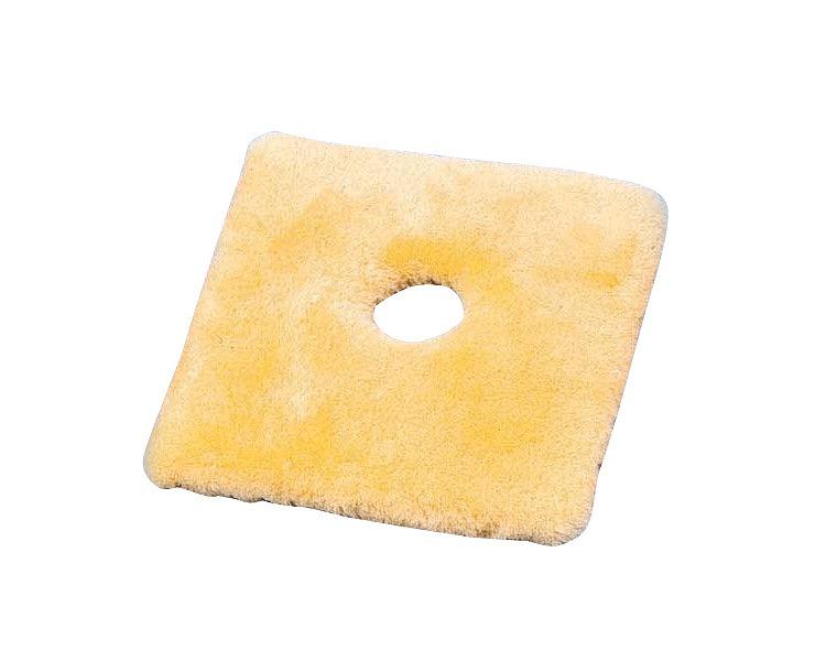ナーシングラッグ 角座薄型(穴有り) NR-21 ウィズ床ずれ防止用具 介護クッション シープスキン 角型クッション 穴空きクッション 高齢者 介護用品 送料無料