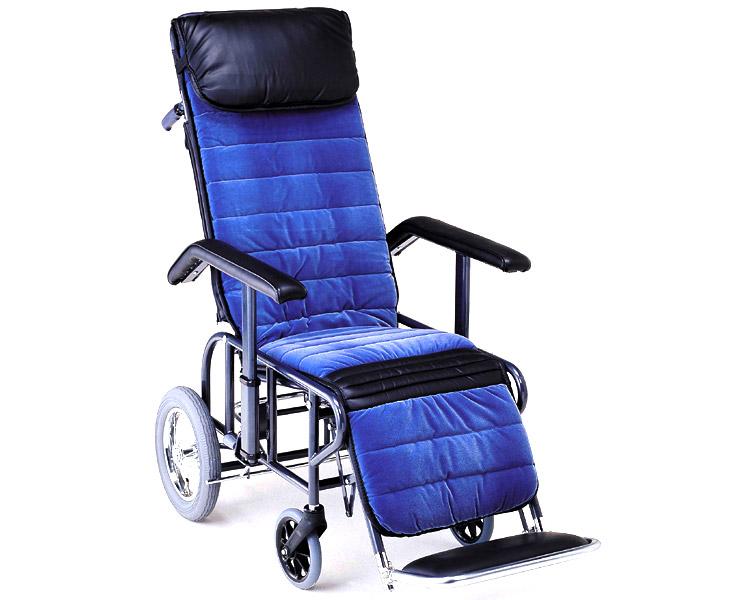 フルリクライニング車椅子 1型(手動・背・足・連動) 松永製作所 【smtb-kd】【介護用品】