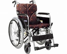 車椅子 軽量 折り畳み アルミフレーム自走用車椅子(ベーシックモジュール車いす)BM22-38・40・42SB-M カワムラサイクル 送料無料車椅子 車いす 車イス 折りたたみ車椅子 携帯 車椅子 介護用品