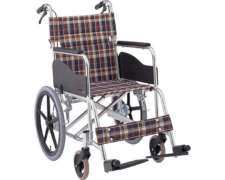アルミ介助式車椅子 AR-301 (AR-300の後継です)背折りたたみ 松永製作所介護用品 車イス 車いす 歩行補助 福祉用具