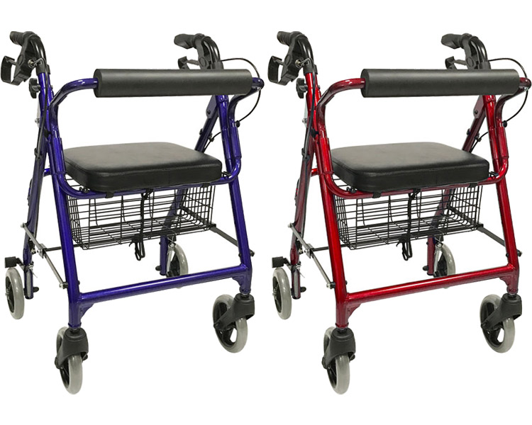 Elderly person handcart with the anchor four walk assistance car symphony  island mill care article walk assistance car walk car walkers