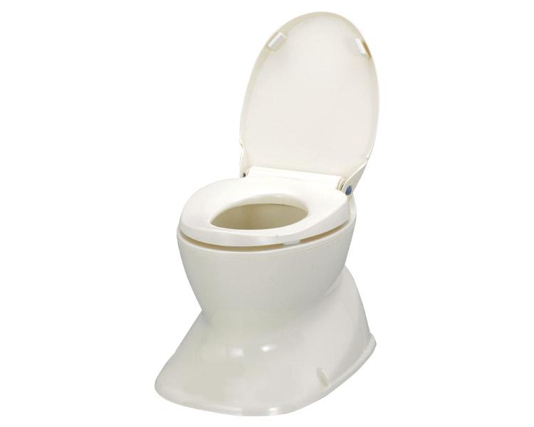 簡易 洋式トイレ サニタリエースHG据置式 アロン化成 【送料無料】【介護用品/和式 洋式/和式 便器/和式トイレ 洋式/簡易設置トイレ/洋式便座 据置型】【smtb-kd】【介護用品】