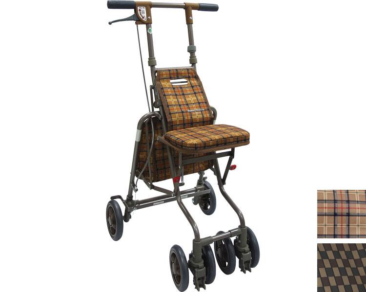 シルバーカー 軽量 サニーウォーカーAW-3 島製作所送料無料 手押し車 老人 高齢者 歩行補助 歩行器 歩行車 介護用品
