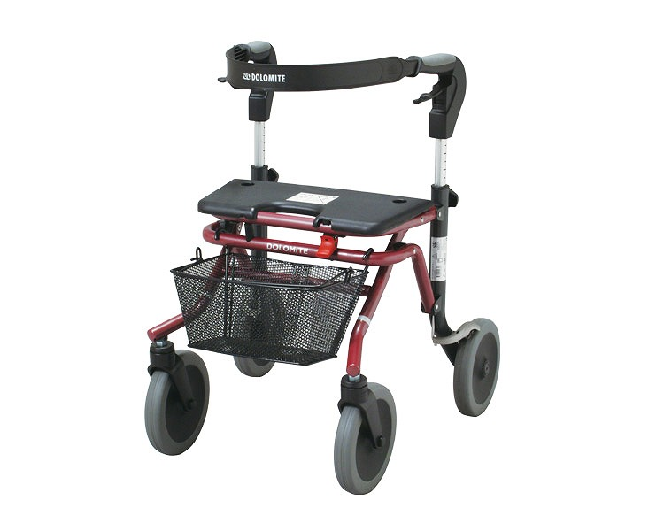 コンパクト歩行車 ウォーキー 3080-500 Sタイプ ラックヘルスケア歩行補助車 歩行車 高齢者 介護用品