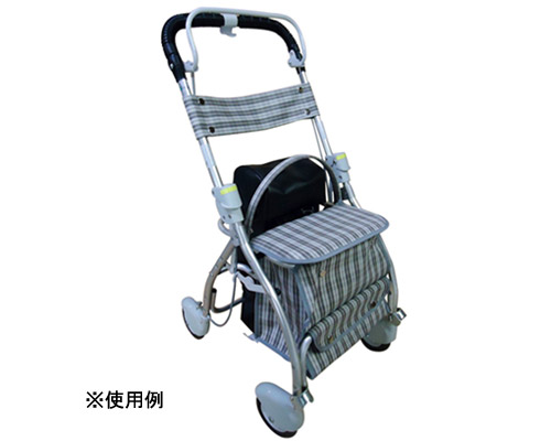 シルバーカー ボンベカーS (椅子付) No886 睦三 【smtb-kd】【介護用品】