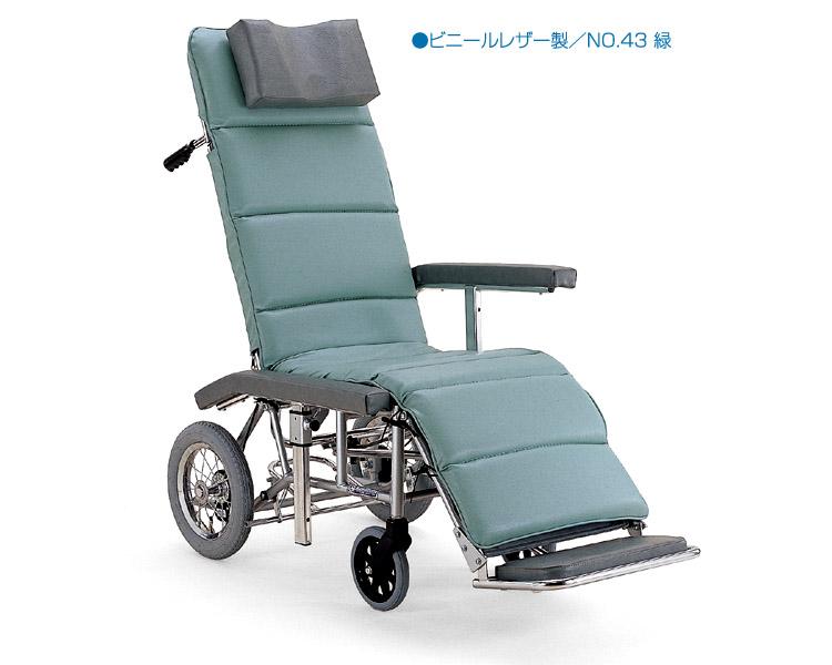 フルリクライニング車椅子RR60N カワムラサイクル 【smtb-kd】【介護用品】【介護タクシー】【フルリク車いす】【車イス】【簡易ストレッチャー】