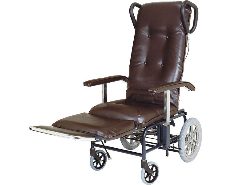 フルリクライニング車椅子 カームV No.238 睦三フルリク車椅子 車いす 車イス 歩行補助 介護用品