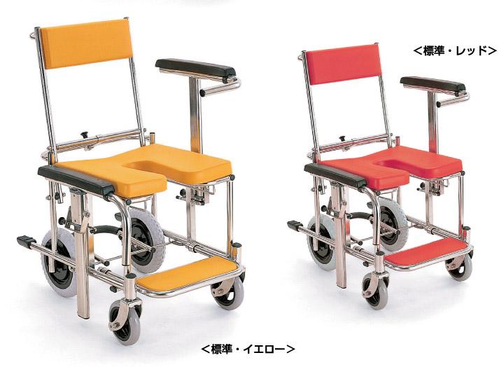 シャワーキャリー 入浴・シャワー用車いすKS3 カワムラサイクルシャワー用車椅子 車イス