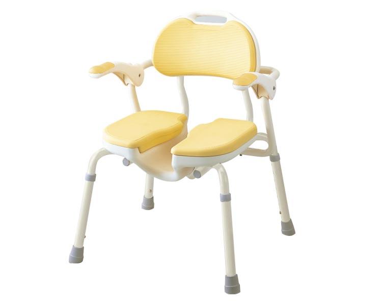安寿 ひじ掛け付シャワーイス HP 535-019 アロン化成介護用品 風呂椅子 介護用品 シャワーチェア お風呂 椅子