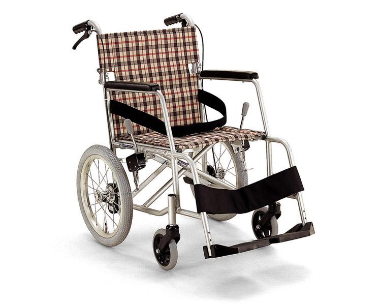 【廃盤】 軽量型超々ジュラルミンフレーム介助用車椅子 KAL-40BB カワムラサイクル 【車椅子】【軽量】【折り畳み】【smtb-kd】【介護用品】