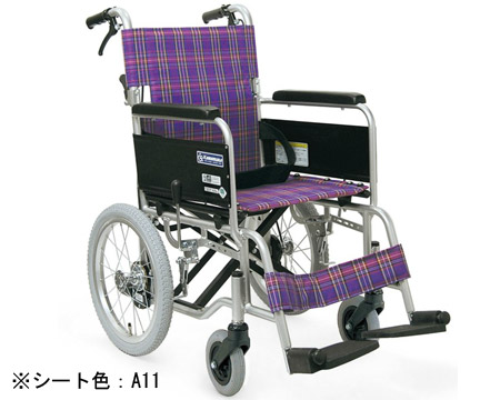 標準型アルミ製車いす ●アルミ介助式車いす KA302SB カワムラサイクル車いす用品 車イス 介護用品 車椅子 軽量 折り畳み