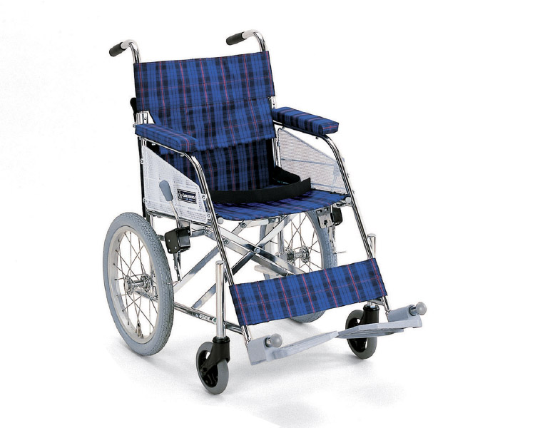 スチールフレーム介助用車椅子 KHS-N カワムラサイクル 【軽量】【smtb-kd】【介護用品】