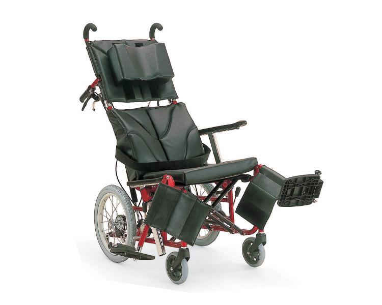 ティルティング&リクライニング車椅子 KPF16-40・42ABF (ぴったりフィットシリーズ) カワムラサイクルティルティング車いす 車イス 介護用品