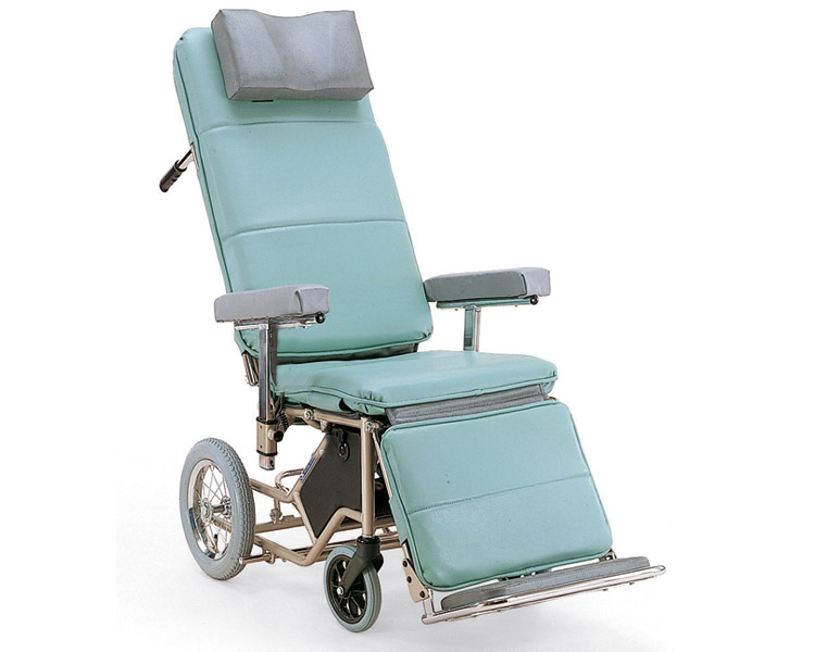 【廃盤】リクライニング車椅子 RR80-PFG (手動式) カワムラサイクル 【smtb-kd】【介護用品】