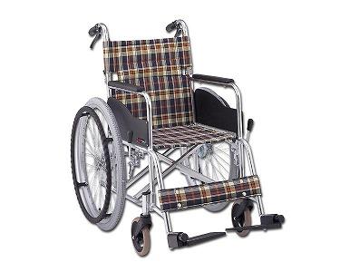 アルミ自走式車椅子 AR-201B(AR-200Bの後継車椅子です) (介助ブレーキ付、背折りたたみ) 松永製作所車いす 車イス 折りたたみ 軽量 自走用 介護用品 福祉用具